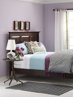 Exclusive Purple bedroom ideas for women 2014