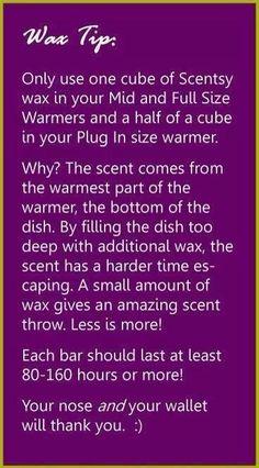 wax tips  https://triciasandifar.scentsy.us/Scentsy/Bio