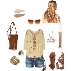hippy chic, created by restheremington.polyvore.com