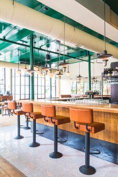 APPAREIL architecture / Montreal / Le VALLIER / Restaurant / photo Ulysse Lemerise