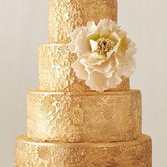 M <3 modern gold weddings