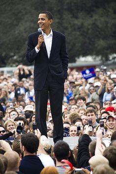 Barack Obama. Look at this beautiful man.