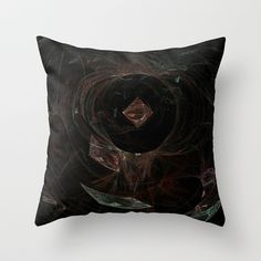 Eye of Chaos Throw Pillow by Christy Leigh - $20.00