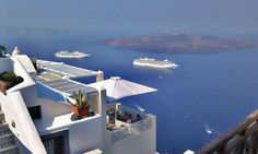 A mythical ancient island that endured one of the largest volcanic eruptions in history, Santorini feels like no other place on earth. Here, everything is brighter: the whitewashed cube-shaped houses, the lapis lazuli sea, and the sunsets that light up the caldera.