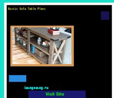 Rustic Sofa Table Plans 163242 - The Best Image Search