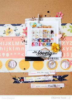Blog: Lovely | Deebee Ruiz - Scrapbooking Kits, Paper & Supplies, Ideas & More at StudioCalico.com!