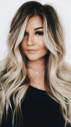 Stunning ideas of balayage hair colors and highlights for long hair to wear in Balayage is one of those colors which are suitable with various hair lengths and hair textures. So choose here these shades of balayage colors to polish your personality. Fresh Hair, Hair 2018, Long Hair Cuts 2018, Cool Hair Color, Wild Hair Colors, Hair Color Tips, Spring Hair Colors, Trendy Hair Colors, Pretty Hairstyles