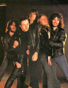 Judas Priest with Les Binks Judas Priest, Heavy Metal Music, Heavy Metal Bands, Noddy Holder, Rob Halford, Creedence Clearwater Revival, Tribute, Famous Musicians, The New Wave