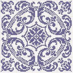 biscornu pattern for my grandma. think she might like that in purple. Funny Cross Stitch Patterns, Embroidery Patterns Free, Embroidery Art, Cross Stitch Embroidery, Embroidery Designs, Filet Crochet Charts, Crochet Cross, Crochet Motif, Cross Stitching