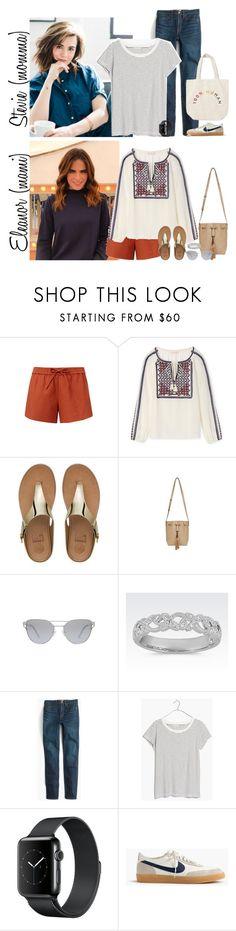 """Tuesday // Activities, Packing Up the Car & Dinner Party // 6.27.17"" by graywolf145 ❤ liked on Polyvore featuring Tory Burch, FitFlop, J.Crew, Madewell and GrayWolfFamily"