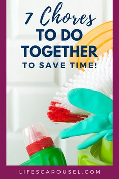 Check out this list of cleaning tasks that you can do together to quickly clean your home. 1 minute, 5 minute or even 15 minute cleaning hacks to get your home clean quicker and easier. Whether it's monthly, weekly or daily cleaning you can speed clean your home with cleaning duos! Weekly Cleaning, Household Cleaning Tips, House Cleaning Tips, Spring Cleaning, Cleaning Hacks, Cleaning Schedules, Beauty Routine Schedule, Beauty Routines, Porous Materials