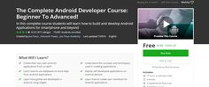 The Complete Android Developer Course: Beginner To Advanced! 195>> free udemy coupon ~ learning online