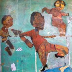 "Saatchi Art Artist ILYA Volykhine; Painting, ""Hanging By A Thread, 2017"" #art"