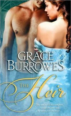 The Heir by Grace Burrowes  and such a prolific writer!!!