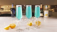 These Tiffany Mimosas Are Classy AFDelish