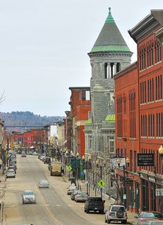 This photo shows downtown Augusta last Thursday. A proposal for the city's downtown to become a Main Street Maine program was recently presented to the Augusta City Council. Portland Maine, Travel Portland, Augusta Maine, New England States, Old Port, New Hampshire, Rhode Island, Outdoor Travel, East Coast
