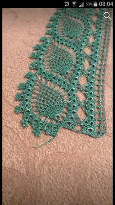 Lace crochet is become part of most of my crochet projects. It's very versatile and I use it to add motifs or to add edging to complete the crochet pattern. Crochet Lace Collar, Crochet Lace Edging, Crochet Leaves, Crochet Borders, Crochet Squares, Filet Crochet, Crochet Shawl, Easy Crochet, Crochet Stitches