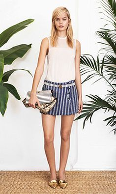 0ff0e4c70cf997 Tory Burch SPRING 2014 — Look 29  undefined Paola Style