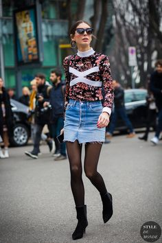 Diletta Bonaiuti Street Style Street Fashion Streetsnaps by STYLEDUMONDE Street…