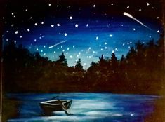 I am going to paint Star Gazing at Pinot's Palette - Highlands to discover my inner artist!