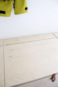 hajottamo: DIY kenkäloota vanerista / DIY shoebox from plywood