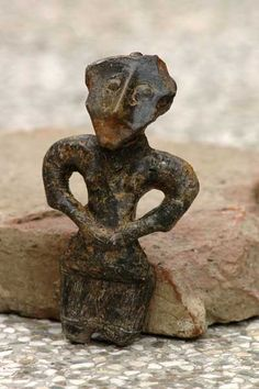 This Neolithic figurine depicts a young woman in an ornately decorated top and a rather short skirt, suggesting that European women have been concerned with fashion for over 7000 years!