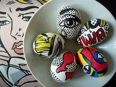 Super Hero Easter Eggs Photo Source