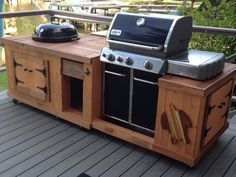 BBQ from pallet boards