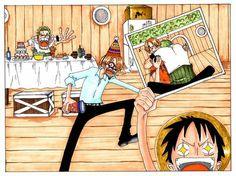 Zoro, Sanji & Luffy