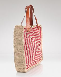 Bloomingdales has a crochet tote!