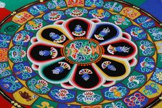 Taking the concept of impermanence to a different level?  Tibetan Sand Painting