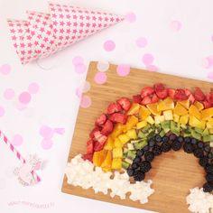 Fun Food : Un arc en ciel fruité ! Miam !