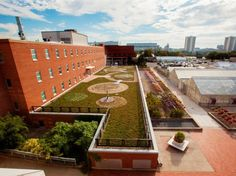 The Ohio State University Green Roof at Howlett Hall; Photo Courtesy of Moerings Sempergreen