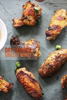 Dry Rubbed Grilled Wings   Lexi's Clean Kitchen