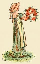 Mother Goose or The Old Nursery Rhymes, 1881 - Kate Greenaway