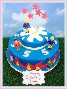 The Brilliant Bakers - Fireman Sam Cake, £85.00 (https://www.thebrilliantbakers.co.uk/fireman-sam-cake/)