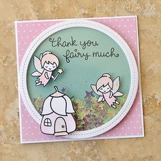 Thank You Fairy Much Shaker by Lucy Abrams