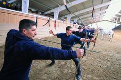 Archery school of Kassai Lajos in Hungary