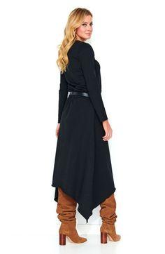Rochie de zi asimetrica negru - 145 Lei - Fabricat in Europa - Comanda acum! #divashopromania #divashop #rochii #rochiidezi #fashion #fashionista #fashionable #fashionaddict #styleoftheday #styleblogger #stylish #style #instafashion #lifestyle #loveit #summer #americanstyle #ootd #ootdmagazine #outfit #trendy #trends #womensfashion #streetstyle #streetwear #streetfashion #shopping #outfitoftheday #outfitinspiration #ootdshare #trendalert #boutique #haine #romania Fashion Addict, Outfit Of The Day, Street Wear, High Neck Dress, Dresses For Work, Street Style, Stylish, Womens Fashion, Cotton