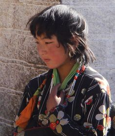 Girl in Lhasa, Tibet