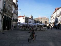 Plaza de la República en Viana do Castelo #portugal #viajes
