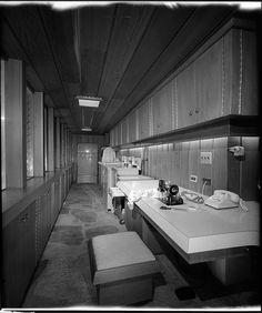 Walton Residence, Bentonville, AR, Built: 1958,  Square Footage:  5,800,  Architect: E. Fay Jones, House won 1961 AIA Honor Award,  Photo: Maynard L. Parker,  Copyright: Huntington Library, Photo Taken: April 1961.