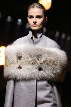 Lanvin fall-2014 grey fur