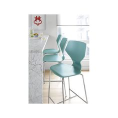 Pike Counter Stool with Chrome Legs in Colors - Counter & Bar Stools - Dining - Room & Board