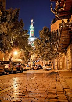 Umayyad Mosque minaret - Old Damascus Syria Country, Umayyad Mosque, Syria Flag, Land Before Time, Islamic Architecture, Tumblr Photography, This Is Us Quotes, Film Stills, Old Photos