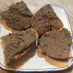 tuscan chicken liver pate for crostini