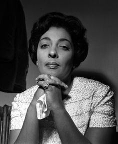 One of Jazz's most distinctive voices. Born in the village of Harlem; Carmen McRae.