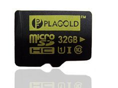 Plagold 32gb Micro Sd Card - up to 80mbps Write Speed Fastest High Class 10 Memory Card - Ultra High Speed(uhs-1) - Tf Card for Use in Mobile Phones, Digital Cameras, Tablet Pcs, Card Readers, Handheld Gps Devices & Mp3 Player. Plagold Memory Flash Is Your Ideal Choice for Storing Audio & Visual Data. Bonus Adapter Increases Versatility of the Microsdhc Card to Work in Any Sd Card Compatible Digital Devices, Including Camcorders, Navigation Systems, Nintendo Ds Flashcards and Laptops. ...
