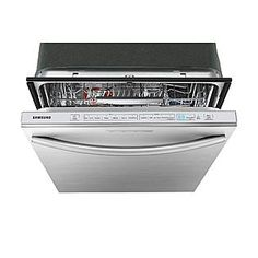 Samsung 24 Built-In Dishwasher w/ Stainless Steel Tub - Stainless ...