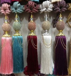 Promotions! Home decoration hanging ball curtain accessories curtain straps rhinestones ornaments free shipping 1pair